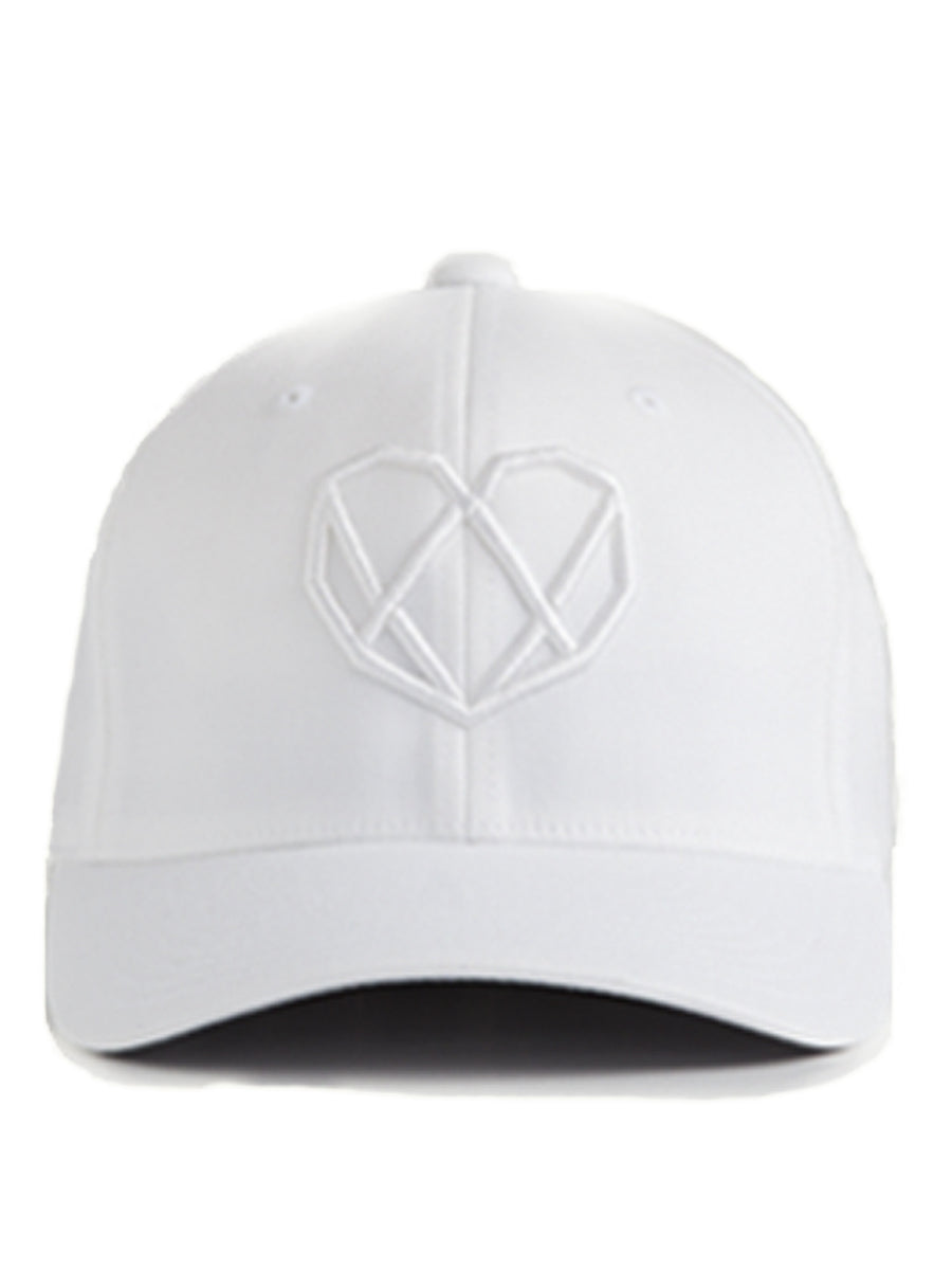White Logo Hat - Strongbody Apparel  - 1
