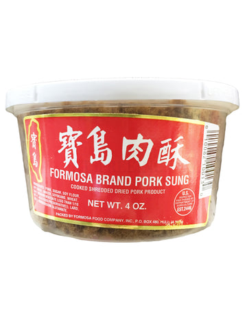 Cooked Shredded Dried Pork Sung Red Label- Formosa