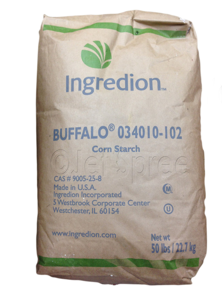 Buffalo Corn Starch - Ingredion - Jet Spree