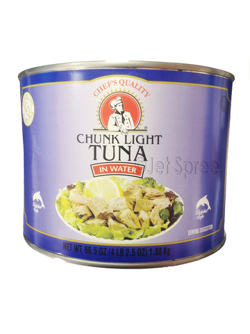 Chunk Light Tuna In Water - Chef's Quality