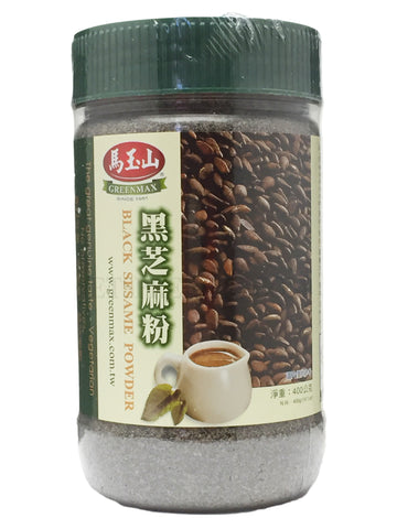 Black Sesame Powder 400 g  14.1 oz - Greenmax