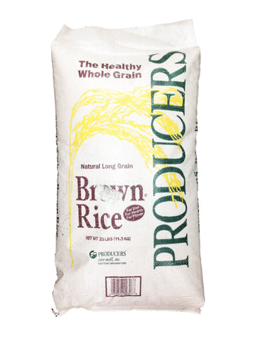 Brown Rice - Producers - 25 lb