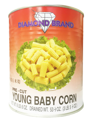 Cut Young Corn - Diamond