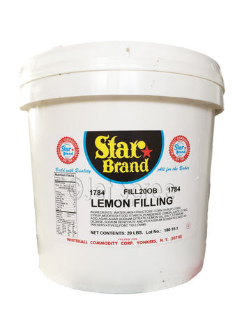 Lemon Filling - Star Brand - 20 lb