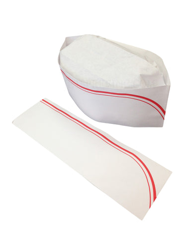 Disposable Kitchen Paper Chef Hat