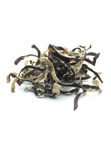 Dried White and Black Fungus Strips