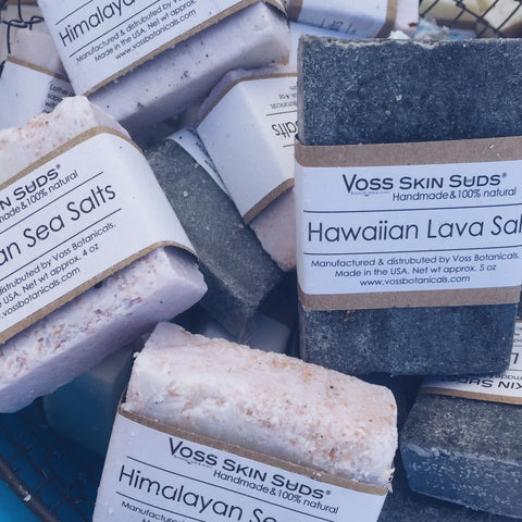 Handmade Cold Process Salt Soap