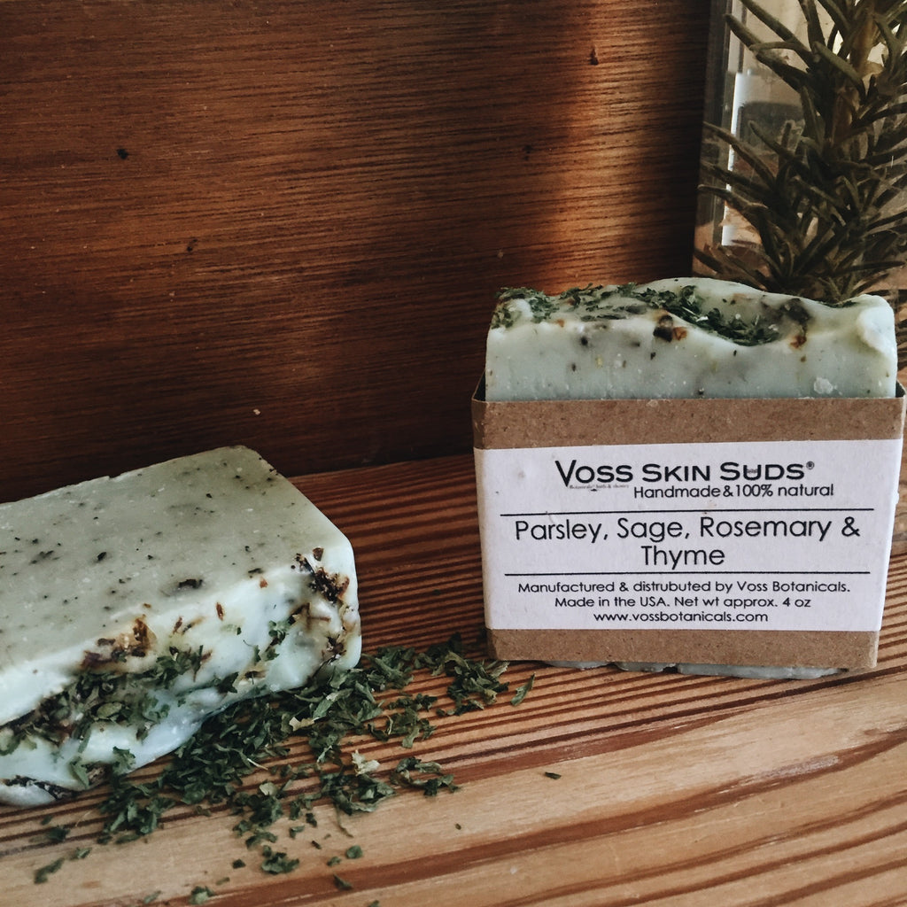 Parsley, Sage, Rosemary & Thyme Soap - Skin Suds®