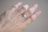 Sterling Arrow Ring - Size 7