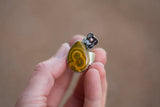 Beautifully Flawed, Ocean Jasper Ring -Size 8