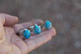 Kingman Turquoise Ring-Determined