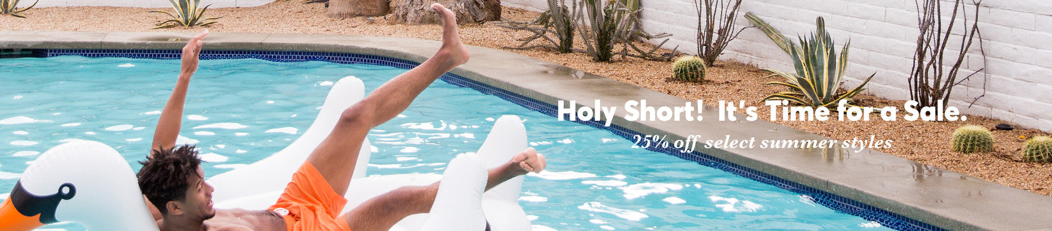 Holy Short Co-ed Summer Sale