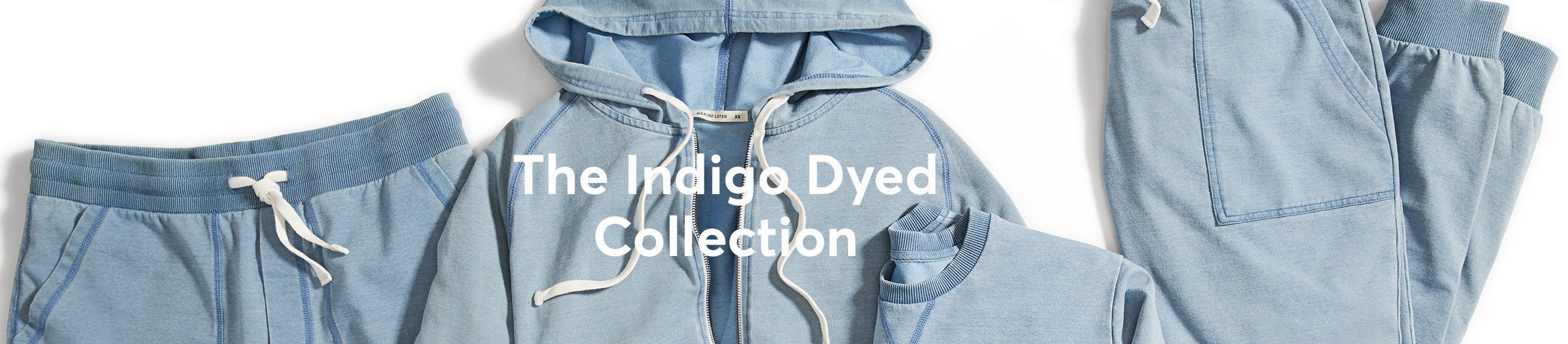The Indigo Dyed Collection