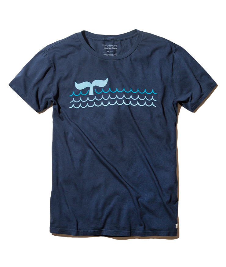 Lonely Whale Tee