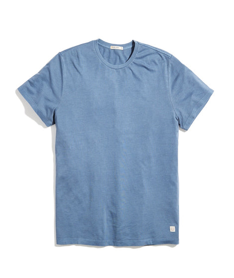 Signature Crew Tee in Coronet Blue