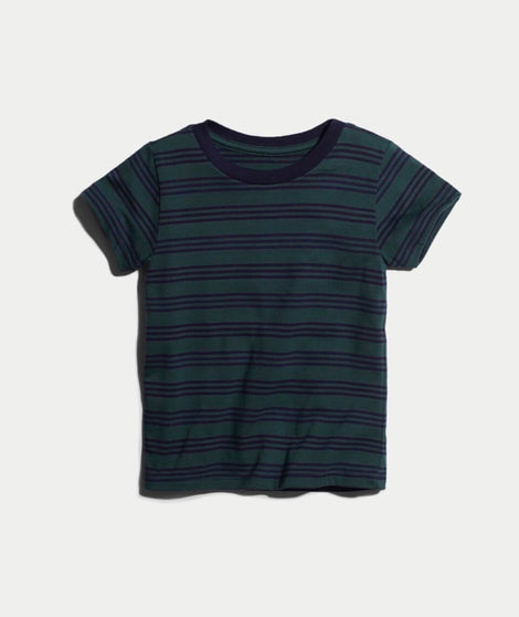 Mini Grant Stripe Tee