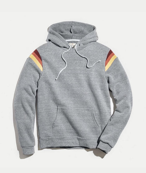 Banks Hoodie with ML Stripes