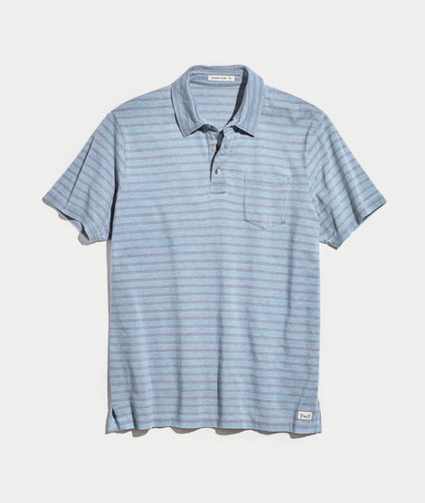 Chambers Striped Polo