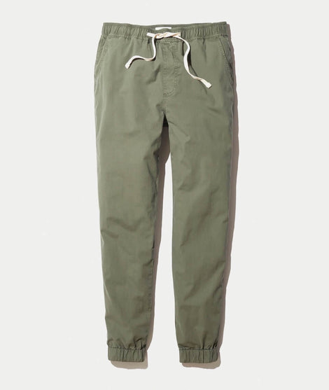 Colton Pant in Worn Olive