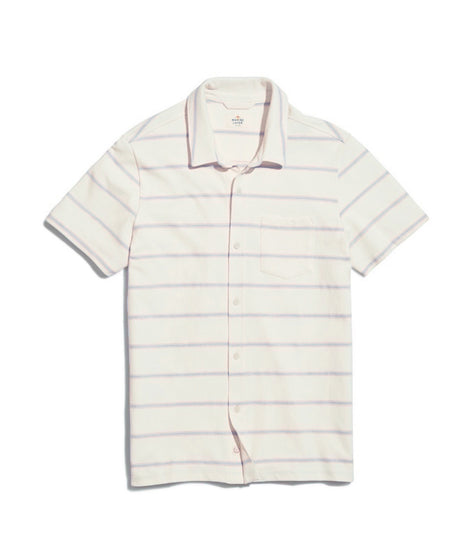 Oakdale Short Sleeve Pique Button Down