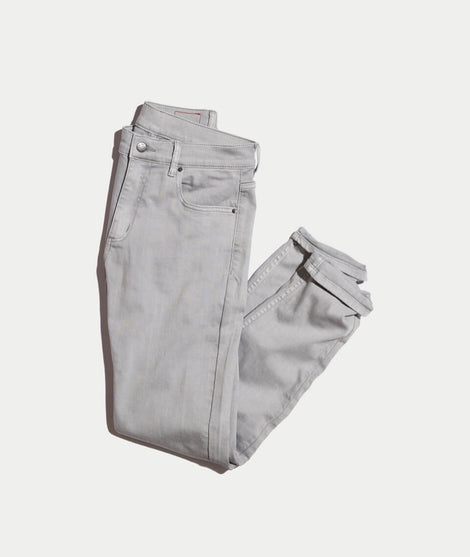 5 Pocket Slim Fit Pant in Light Grey
