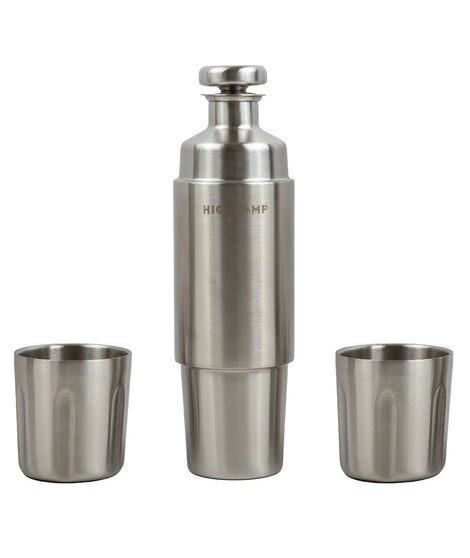 High Camp Firelight Flask 750ml - Stainless Steel