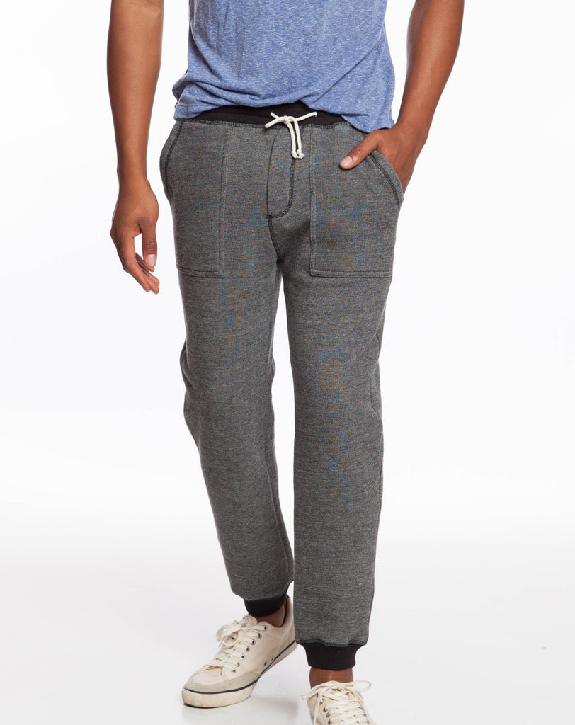Denim Terry Jogger Pants