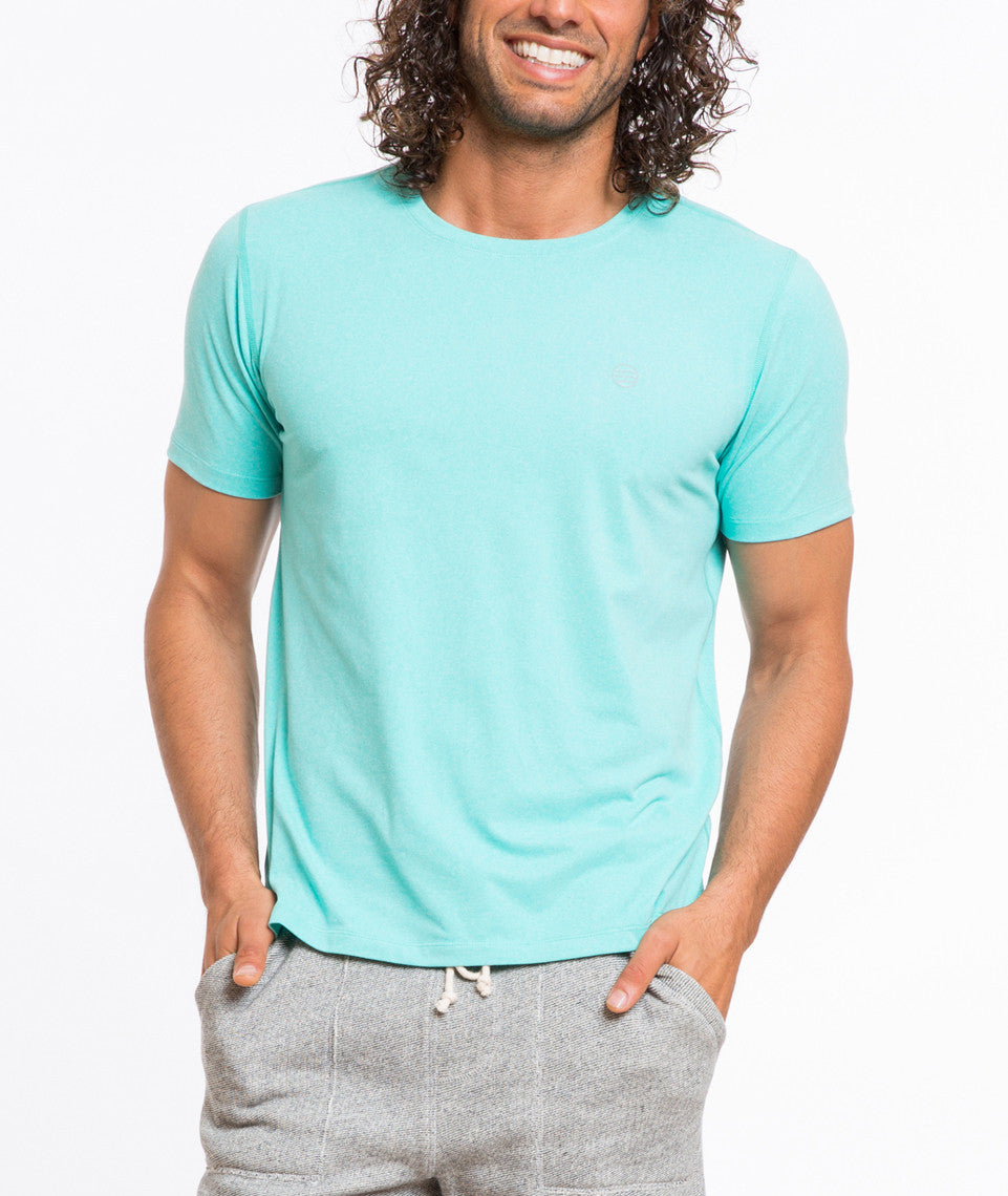 Sport Crew Chest Logo - Teal