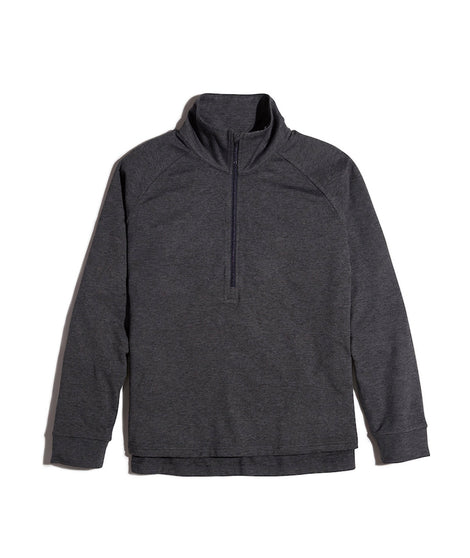 Women's Sport Quarter Zip in Charcoal