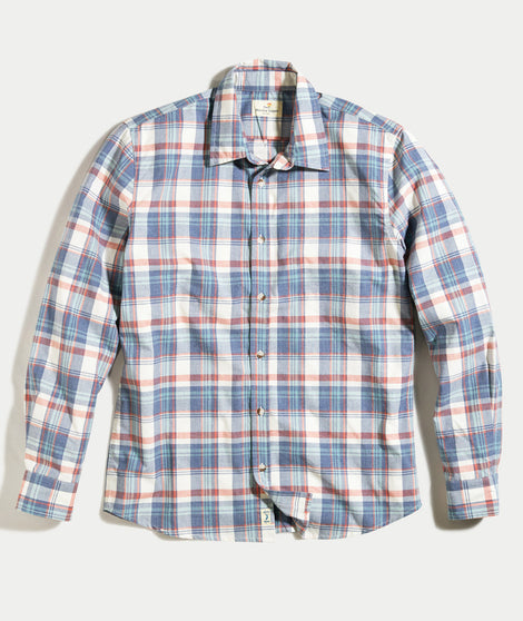 Abbott Plaid Button Down
