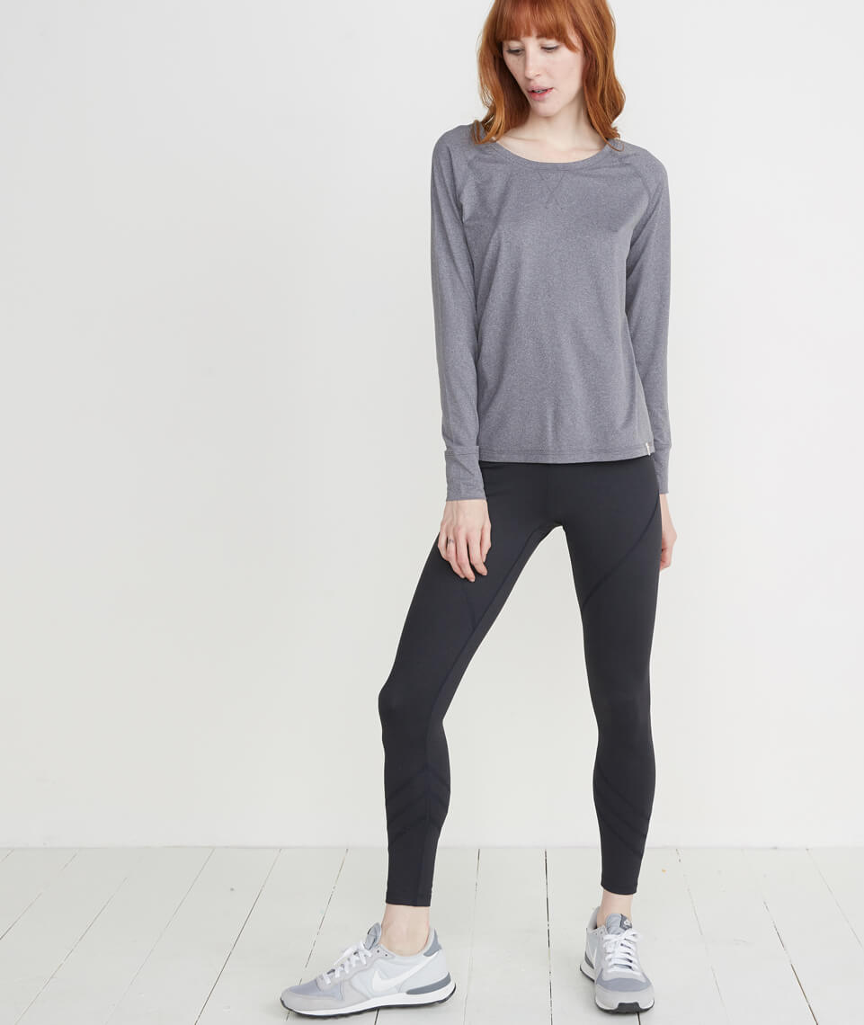 Mia Sport Legging in Black