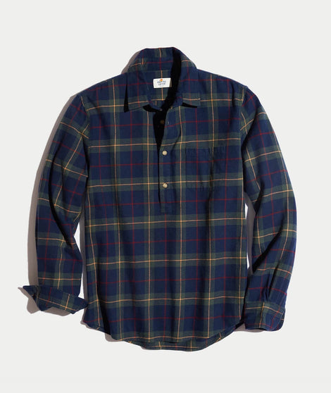 Austin Plaid Flannel Popover