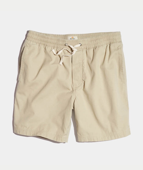 Beach Short in Pale Khaki