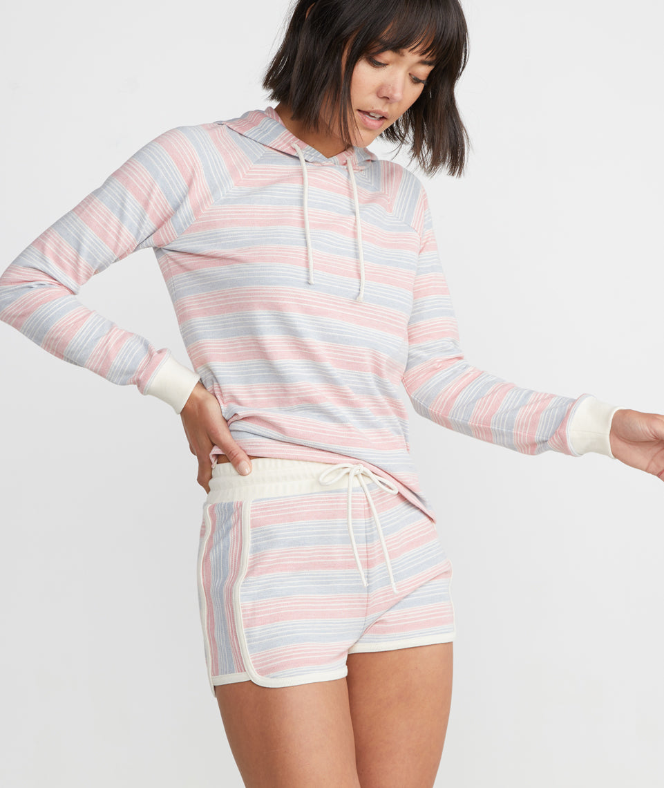 Weekend Short in Multi Stripe