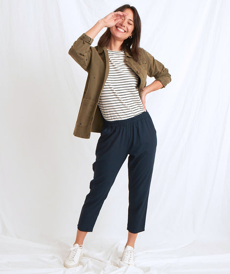 Monica Pant in Navy