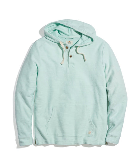 Clayton Beach Hoodie in Fair Aqua