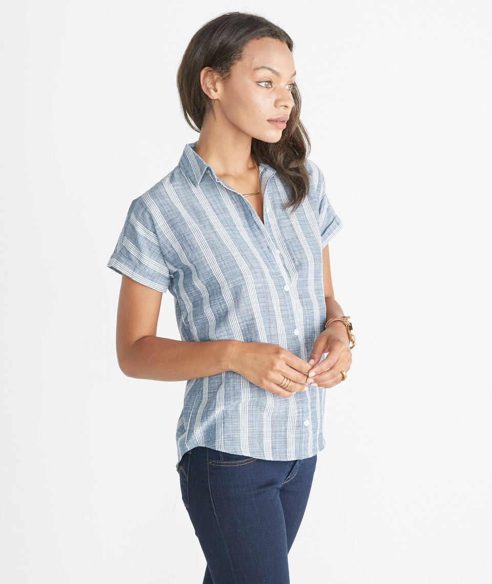Cleo Button Down