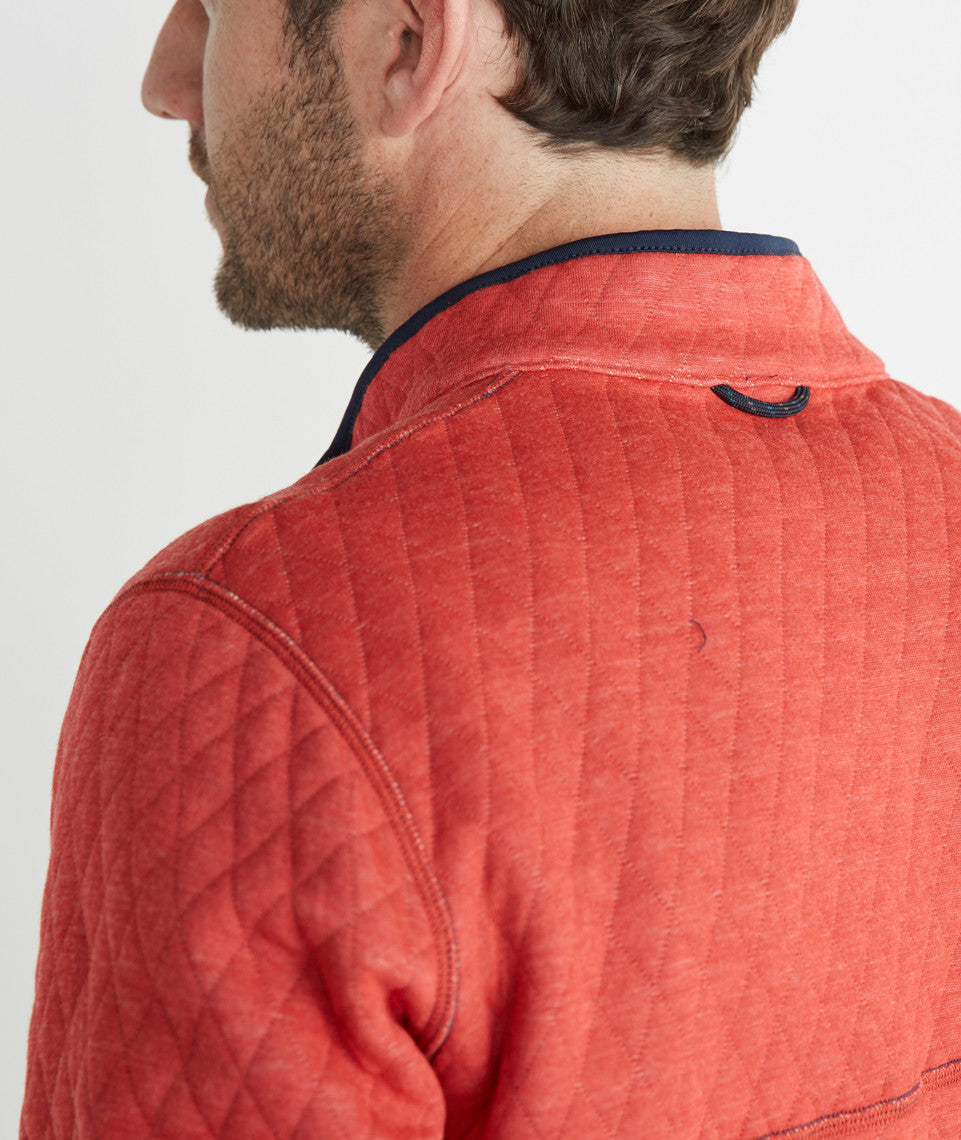 Corbet Reversible Fleece Pullover
