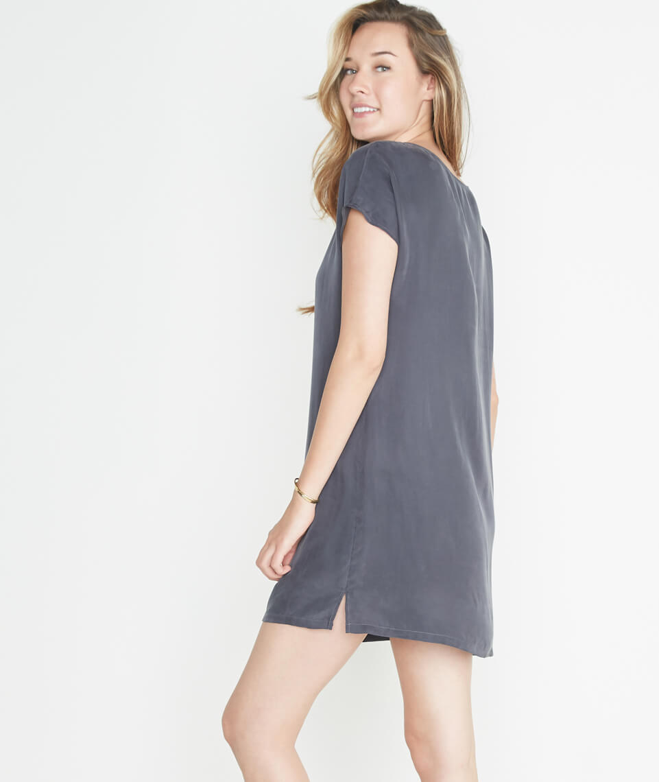 Delta Dress in Faded Black
