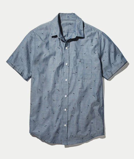 Diver Dave Chambray Button Down