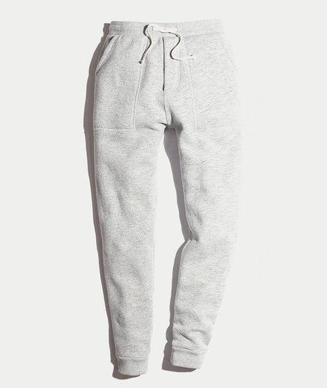 Emmett Sherpa Jogger in Heather Grey