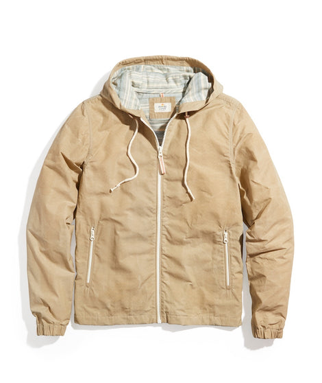 Everett Lightweight Waxed Canvas Jacket