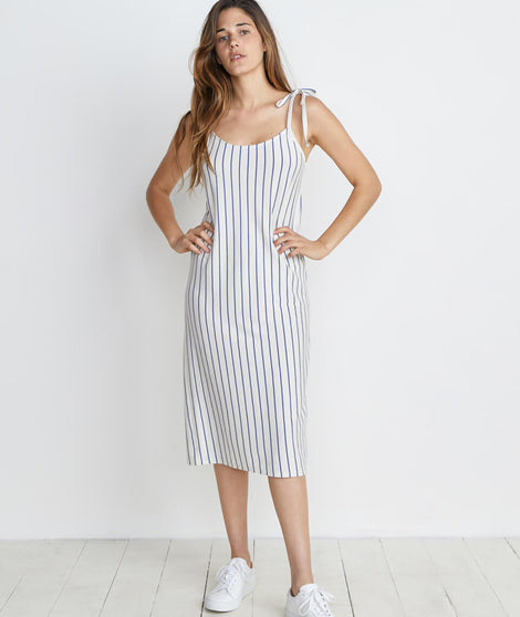 Farrah Dress In Marlin Stripe