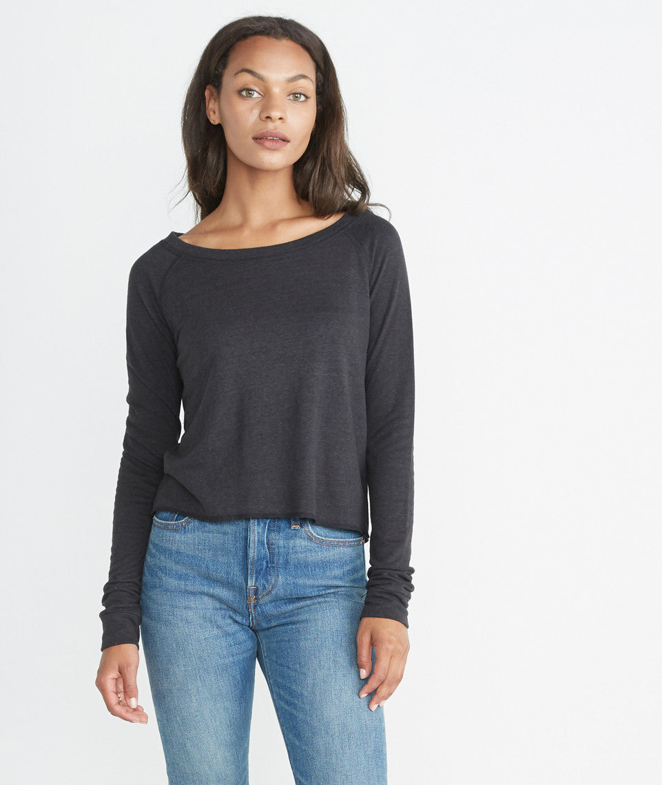 Gabby Double Knit Raglan