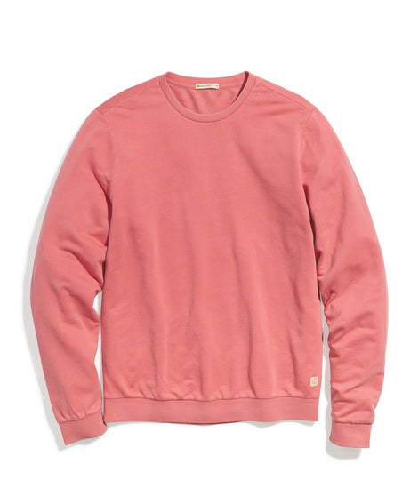 Garment Dye Crew Sweatshirt in Baked Apple