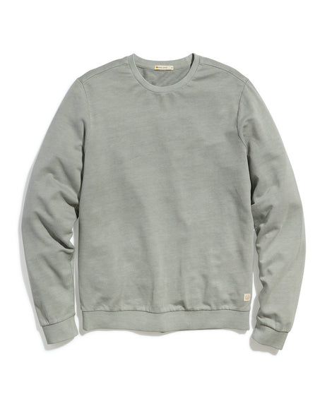 Garment Dye Crew Sweatshirt in Quarry