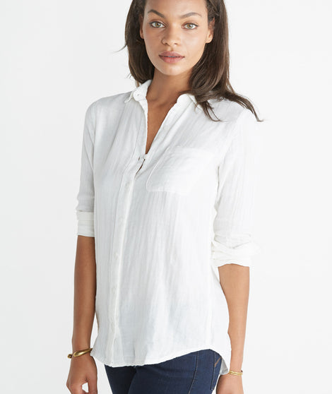 Genevieve Button Down