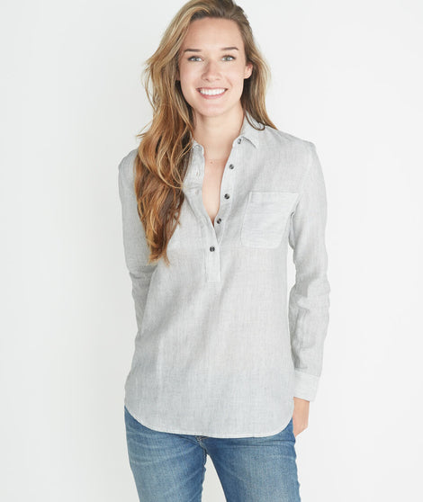 Hazel Button Down