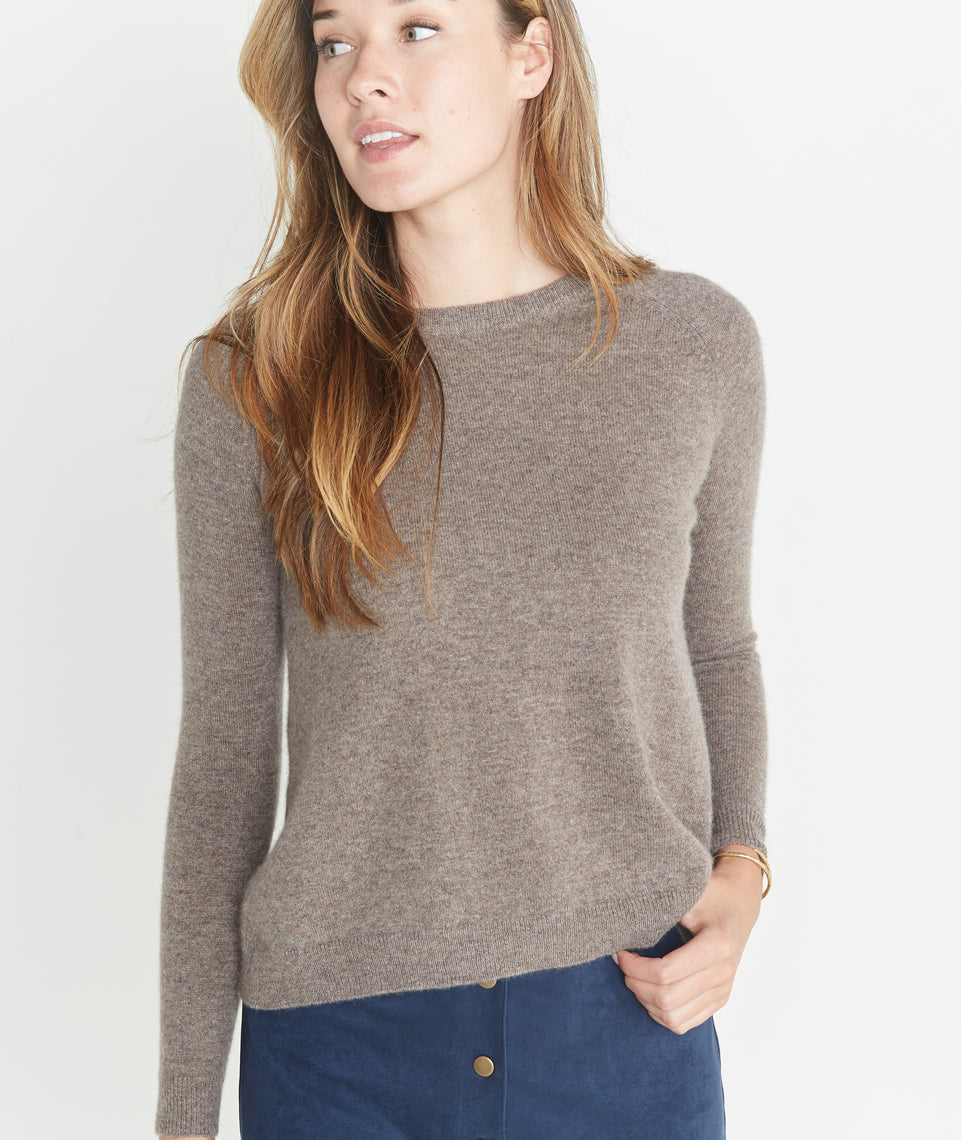 Holly Cashmere Swing Crewneck Sweater