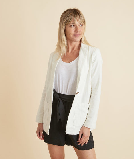Huntington Double Cloth Blazer